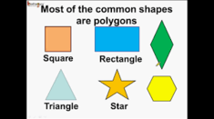 Shapes, shapes, EVERYWHERE!!